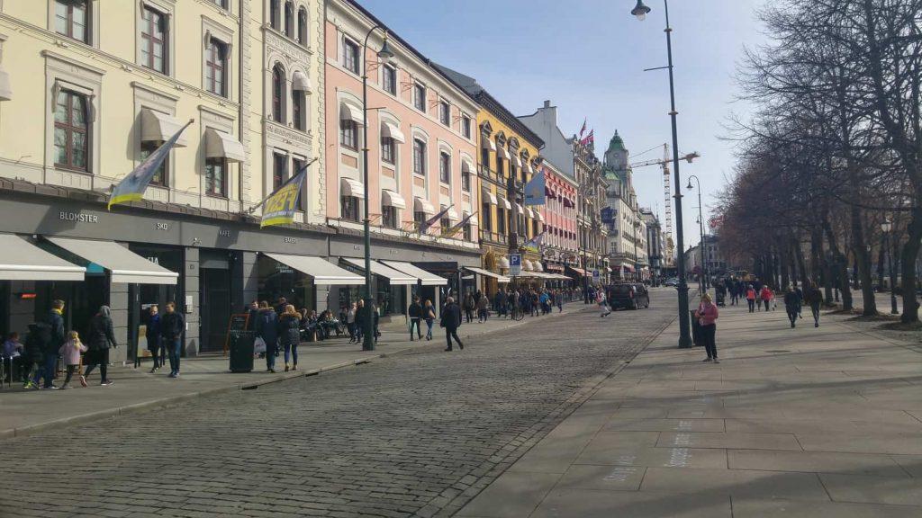 Het centrum van Oslo