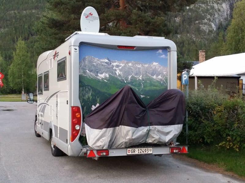 Camper in Noorwegen