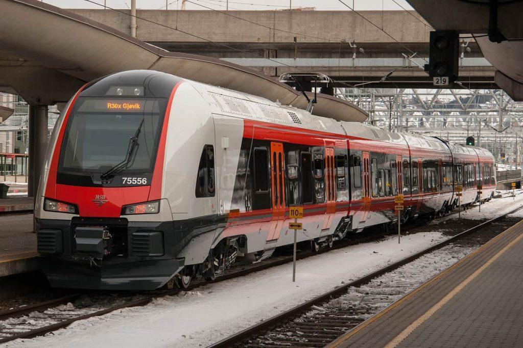 Met de Trein naar Noorwegen