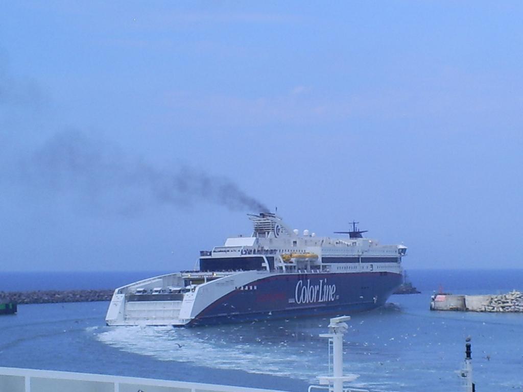 Colorline ferry naar Noorwegen