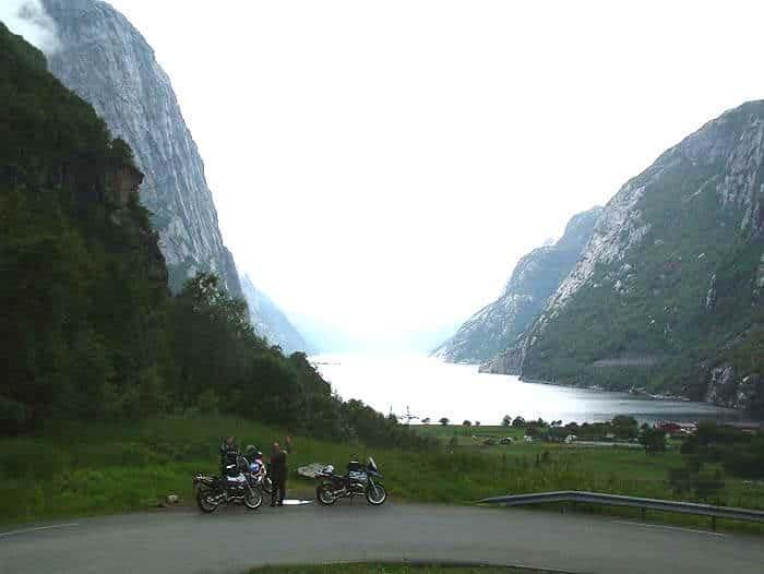 Noordkaap Route Fjord