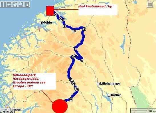 Rondreis Noorwegen route 2 deel 4