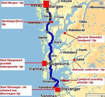 Rondreis Noorwegen route 2 deel 2