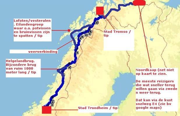 Rondreis Noorwegen route 1 deel 2