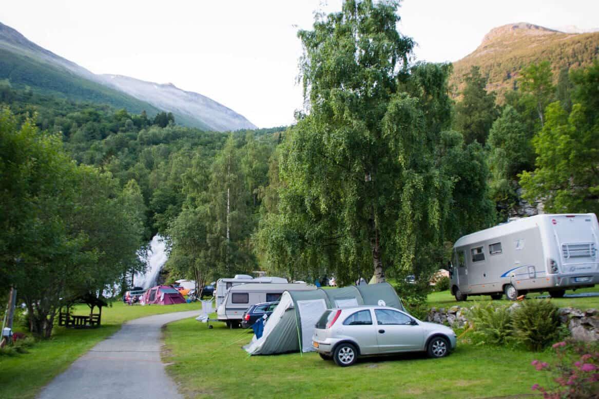 vinje geiranger camping