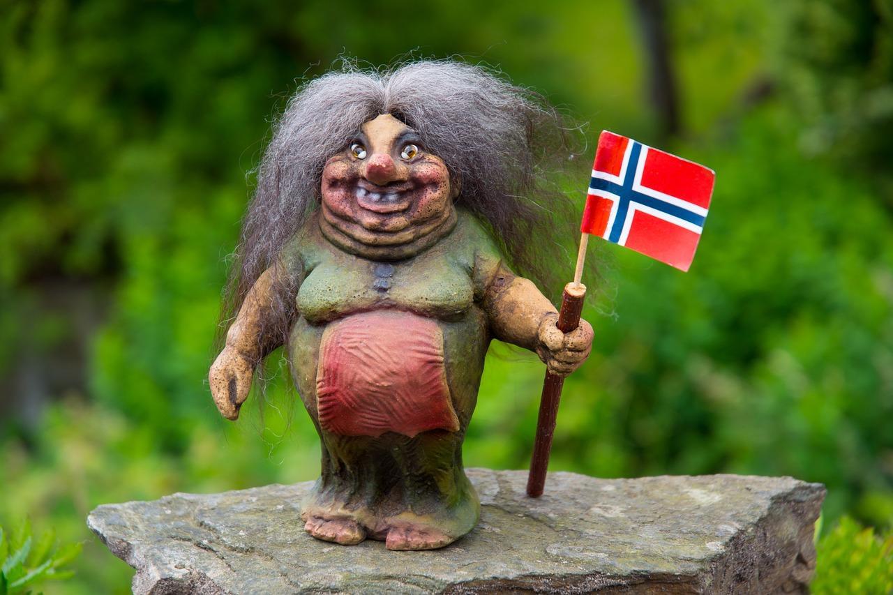 vrouwelijke trol noorwegen