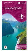 wandelkaart geiranger fjord