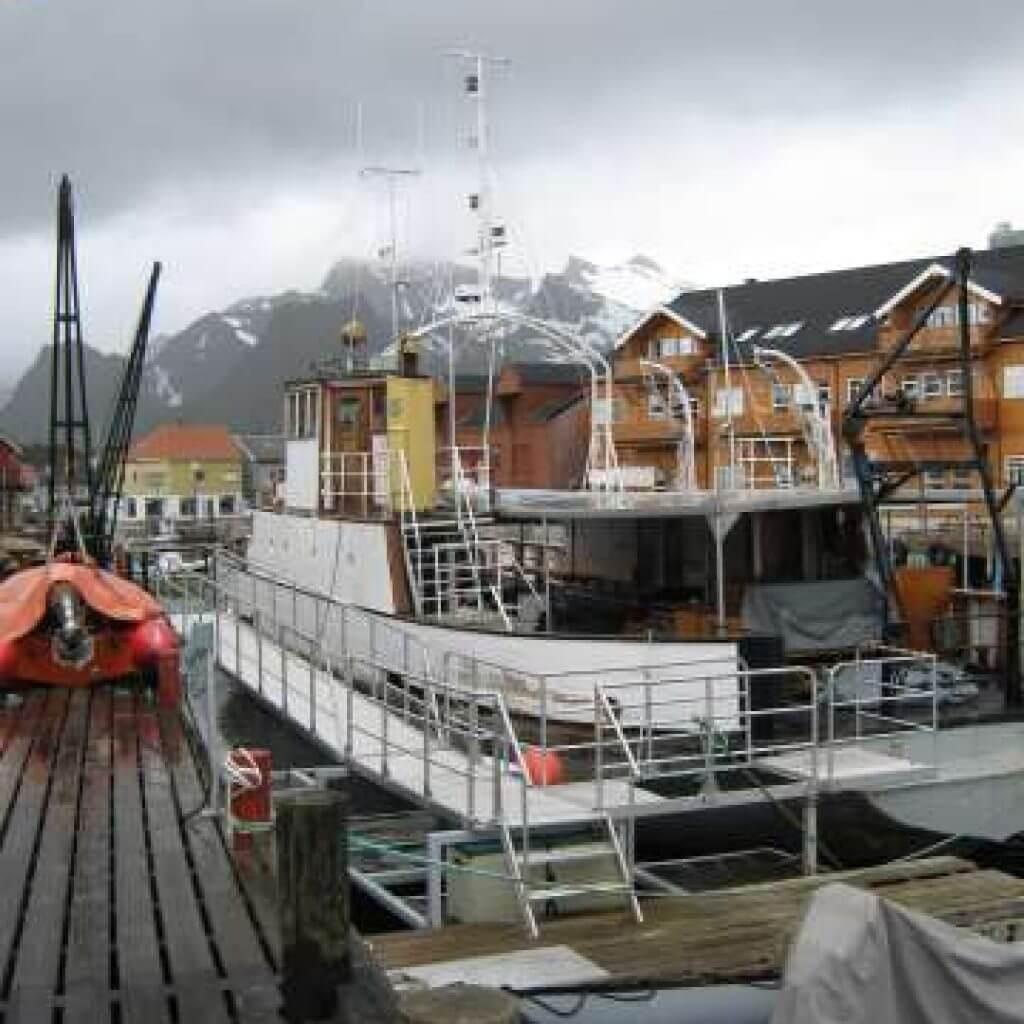 Visboot Noorwegen