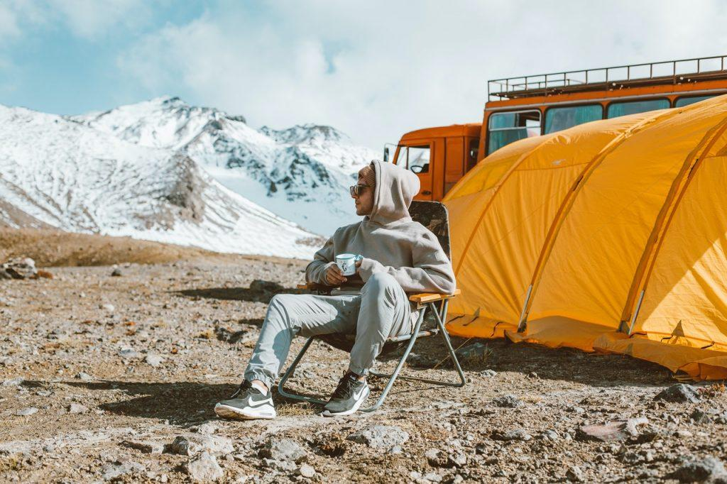 vrij kamperen camper