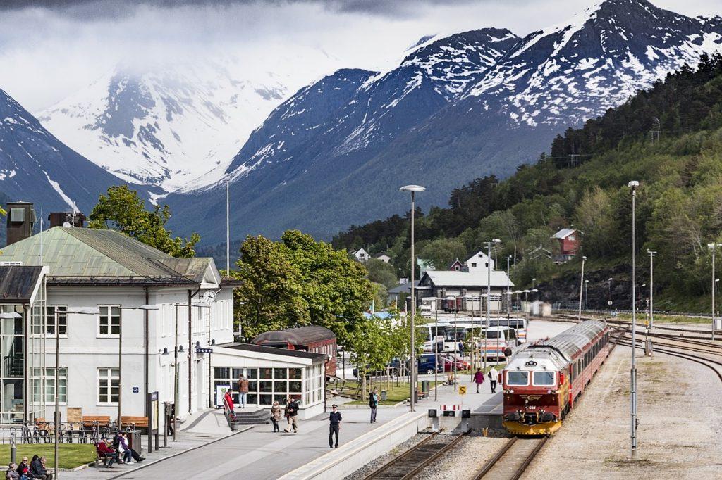 trein naar noorwegen
