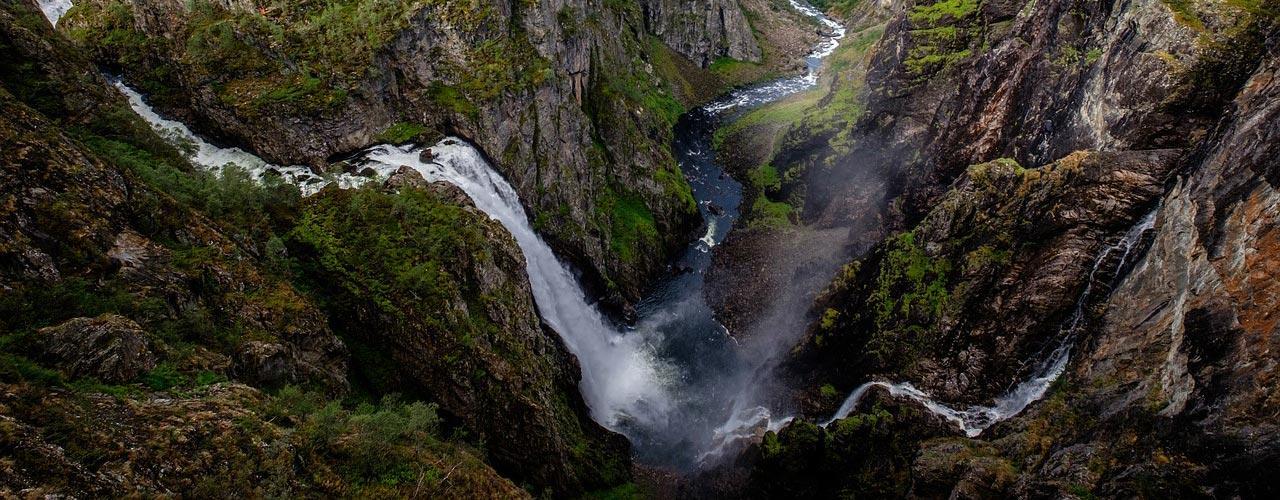 Voringfossen Noorwegen