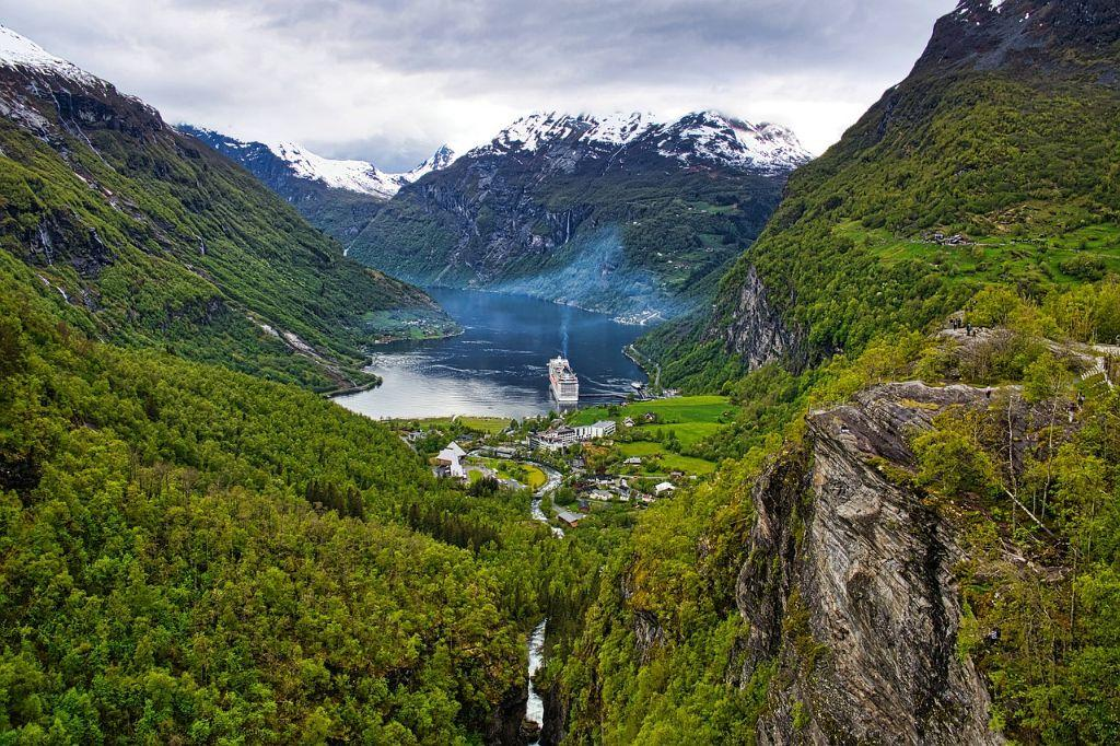 Geiranger Noorwegen