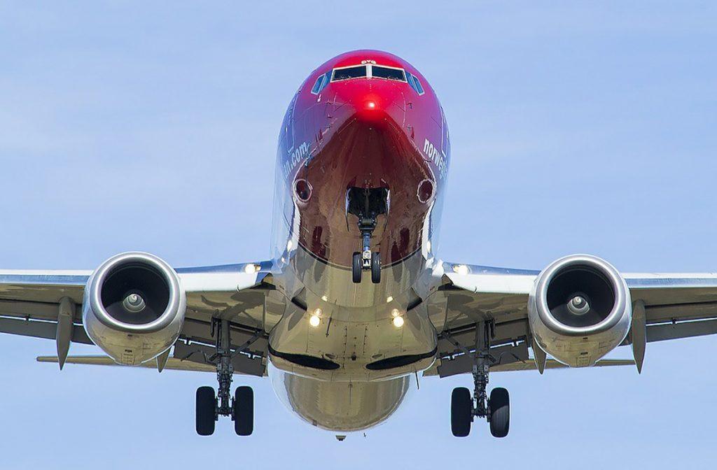 vliegen naar noorwegen
