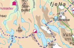wandelkaarten noorwegen